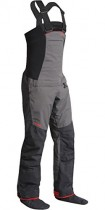 Nookie 2017 Pro Bib Double Waist Dry Trousers in Charcoal Grey TR12