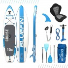 Paquete de Sup Bluefin Cruise | Tabla de Paddle Surf Hinchable