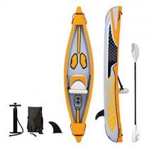 AA-PHUJ Canoa Inflable Kayak de Pesca en el océano 1 persona