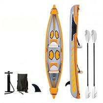 AA-PHUJ Canoa Inflable Kayak de Pesca en el océano 2 personas