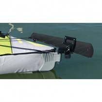 Advanced Elements Unisex avanzada Trak Kayak Kit de timón, negro, un tamaño