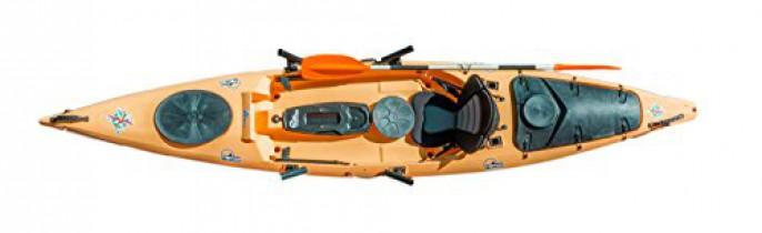 Asturkayak Kayak Ikaipa Angler Team naranja