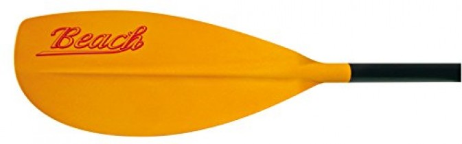 Bic Paddle Beach 215 – Remo para kayak, color naranja/negro, 215 cm