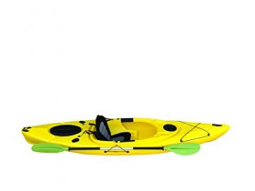Cambridge Kayaks ES, Herring Amarillo Kayak DE Paseo Y Pesca, RIGIDO