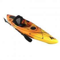 Cambridge Kayaks ES, Herring Naranja Y Amarillo Kayak DE Paseo Y Pesca, RIGIDO