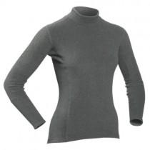 Camisa de manga larga gruesa piel para las mujeres
