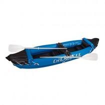 Canoe Kayak hinchable 2 personas con remo Cherokee Sport