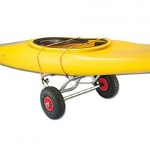 CARRELLOO PIEGHEVOLE PORTA SURF/CANOA SU RUOTE PNEUMATICHE 280 MM