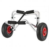 Docooler Carro de Transporte Kayak Carretilla de 75 kg Capacidad de Carga Plegable