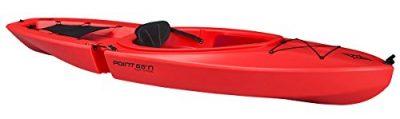 Gemini GT solo Modular Kayak, Rojo