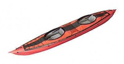Gumotex Kayak seawave – con Impuestos Remo + 2 unidades Protección antisalpicaduras