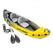Intex – Kayak hinchable explorer k2 & 2 remos