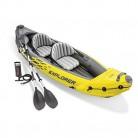 Intex Explorer K2 Kayak, Kayak Hinchable de 2 Personas
