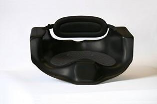Kayak Asiento PE con asiento, Respaldo correa y fijaciones, asiento altura aprox. 19 cm