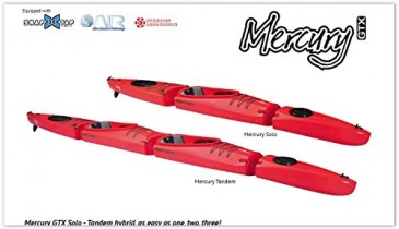 KAYAK DESMONTABLE MERCURY GTX