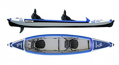 Kayak Slider 410-Híbrido (kayak+paddle surf) para 1 y 2 personas