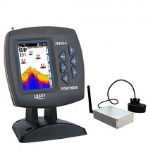 LUCKY Fish Finder Pantalla LCD DE 3,5 Pulgadas inalámbrico