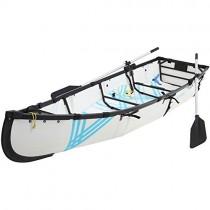 mycanoe ligero Origami plegable plegable portátil barco 9,5 m pesca de remo