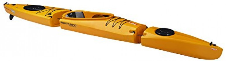 Point 65 Mercury Solo GTX Kayak modulable amarillo