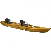 Point 65 Tequila. GTX Tandem Modular Sit On Top Kayak, amarillo, talla única