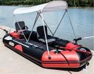 POTA 3-Persona Kayak Bote Inflable a la Deriva Botes Barco de Pesca