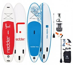 REDDER Pack De 2 Tablas Paddle Surf Hinchables 10′ VORTEX Pro