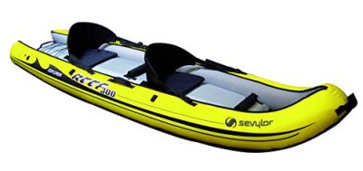 Sevylor Reef 300 Kayak hinchable, kayak de mar 2 personas