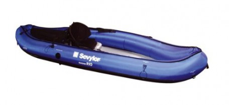 Sevylor Rio – Kayak sit on top (1 persona), color azul, talla 300 x 93 cm