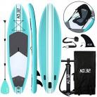 Tabla Hinchable de Paddle Surf + SUP Paddle Remo de Ajustable | Bomba | Mochila