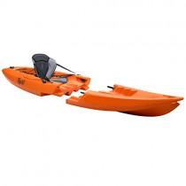TEQUILA GTX solo Kayak Desmontable naranja