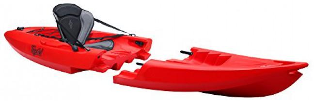 TEQUILA GTX solo Kayak Desmontable rojo