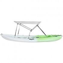 Toldo de Kayak Bimini, de poliéster 600 D, color gris claro
