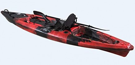 UK KAYAK LTD. Kayak de Pesca con ángulo de 30 cm