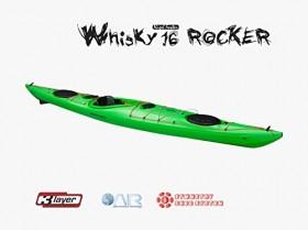 Whisky 16 Rocker Rudder skeg Lime