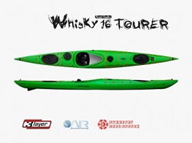 Whisky 16 Tourer skeg Lime