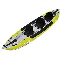 Z-Pro Tango 3 Inflatable Kayak Green – 2 or 3 Person Kayak